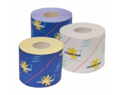 Бумага туалетная в стандартных рулонах