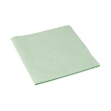 Салфетка из микроволокна и искусственной замши МикроСмарт, 36 х 38 см, зеленая (5 шт/упак), арт. 111572