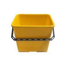 Ведро цветное 6 л, желтое, арт. 500433