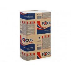 Полотенца бумажные листовые FOCUS Extra, Z-сложения, 200 листов, 1 слой, 24*21,5 см (12 шт/упак), арт. 5044995