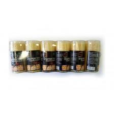 Зубочистки бамбуковые в тубе, 180  (12 шт/упак)