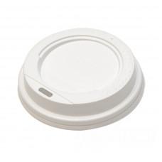 Крышка для стакана для горячих напитков белый d80 GREINE (100 шт/упак)