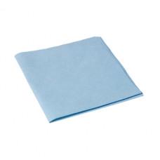 Салфетка из микроволокна и искусственной замши МикроСмарт, 36 х 38 см, синяя (5 шт/упак), арт. 111562