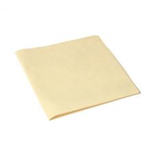Салфетка из микроволокна и искусственной замши МикроСмарт, 36 х 38 см, желтая (5 шт/упак), арт. 111574