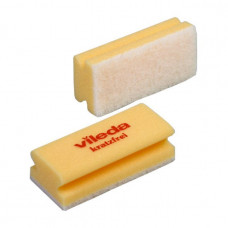 Губка Vileda Минимальная жесткость, белый абразив, желтый (10 шт/уп), арт.102564