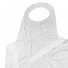 Фартук полиэтиленовый ПНД 18 мкр, 81*125см (100 шт/упак), арт. AP002V