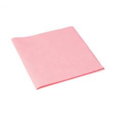 Салфетка из микроволокна и искусственной замши МикроСмарт, 36 х 38 см, красная (5 шт/упак), арт. 111563