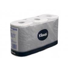 Туалетная бумага Kleenex Perfomance в стандартных рулонах, 600 листов 9,5 х 12 см, 2 слоя (6 шт/упак), арт. 8446