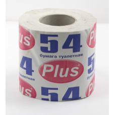 Туалетная бумага «Plus 54»  (72 шт/упак), арт. 1365