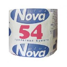 Туалетная бумага «Nova 54»  (72 шт/упак), арт. 1380