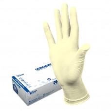 Перчатки медицинские латексные смотровые (диагностические) DERMAGRIP Extra 50 шт.