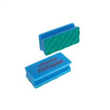 Губка Профи с системой ПурАктив, синяя (10 шт/упак), арт. 123118