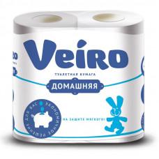 Туалетная бумага «Linia Veiro» Домашняя 4шт., 2сл. , арт. 2675