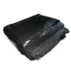 Пакет для мусора, 100 * 80 см, 100 мкм, черный (100 шт/упак)