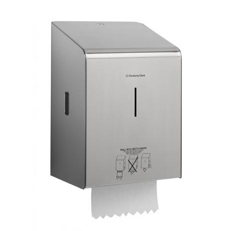 Диспенсер для полотенец в рулонах Премиум-класса Non-Tuch, 27 х 48 х 34,5 см, арт. 8976, Kimberly-Clark