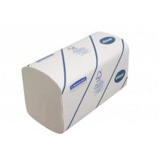 Полотенца для рук в пачках Kleenex Ultra Airflex®, 186 листов, 21 х 22 см, 2 слоя (V / ZZ-сложение) (15 шт/упак), арт. 6789