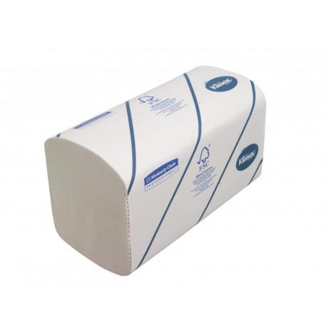 Полотенца для рук в пачках Kleenex Ultra Airflex®, 186 листов, 21 х 22 см, 2 слоя (V / ZZ-сложение) (15 шт/упак), арт. 6789, Kimberly-Clark