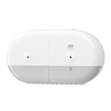 Tork SmartOne® двойной диспенсер для туалетной бумаги в мини-рулонах, белый, арт. 682000
