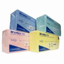 Салфетки в пачке с цветным кодированием Wypall Х50, 50 листов 25х42 см, зеленый, арт. 7442