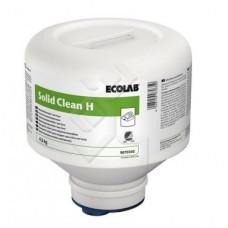 SOLID CLEAN H твердое моющее средство для посудомоечных машин для жесткой воды, 4,5кг (4 шт/упак), арт. 9070360