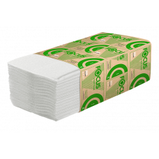Полотенца бумажные Focus Eco V сложения, 1 слой, 23 х 20.5 см, 250 листов (15 шт/упак), арт. 5049978