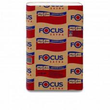 Полотенца бумажные листовые FOCUS Extra, Z-сложения, 200 листов, 2 слоя, 24*20 см (12 шт/упак), арт. 5041537