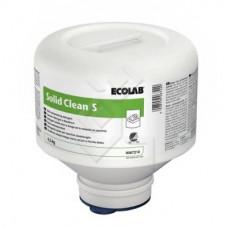 SOLID CLEAN S твердое моющее средство для посудомоечных машин для мягкой воды, 4,5кг (4 шт/упак), арт. 9070180
