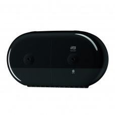 Tork SmartOne® двойной диспенсер для туалетной бумаги в мини-рулонах, черный, арт. 682008