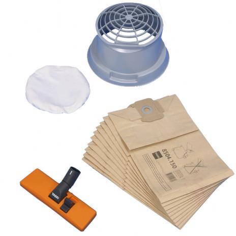 Комплект для сухой уборки для Vacumat 12: фильтр, держатель фильтра, мешок, насадка, арт. 8504500, Diversey