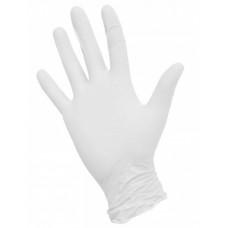 Одноразовые нитриловые перчатки White Atlas, белый, 3,5 гр,  (100 шт/упак)