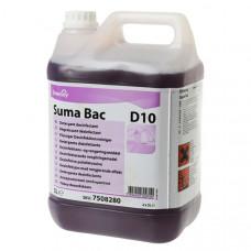 Suma Bac D10 Дезинфицирующее средство с моющим эффектом, 5 л, арт. G11956