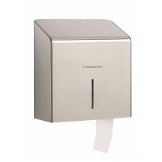 Диспенсер премиум-класса для туалетной бумаги в рулонах Jumbo, 27 х 29 х 15 см, арт. 8974