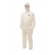 Комбинезон для защиты от брызг жидкостей и твердых частиц Kleenguard A50, M, белый, арт. 99660
