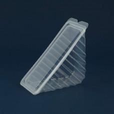 Сэндвичбокс с крышкой РР 450 мкм, ука (80 шт/упак)