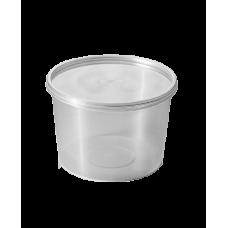 Контейнер суповой одноразовый, 500 мл (60 шт/упак)