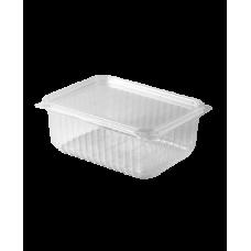 Контейнер для еды прямоугольный 1000 мл 179*132 прозрачный ПП (50 шт/упак), арт. КО2804