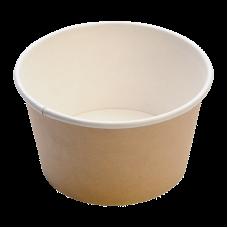 Чаша одноразовая 330 мл картон (500 шт/уп)