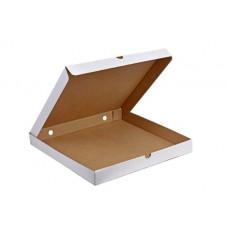 Коробка для пиццы 330*330*40 белая 25 шт.
