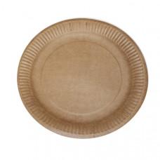 Тарелка одноразовая 180 мм картон (600 шт/уп)