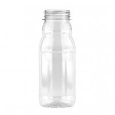 Бутылка пластиковая 0,5л МILK + пробка (100 шт/уп)