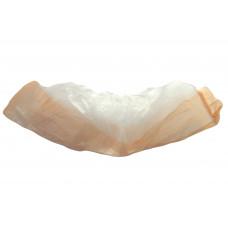 Бахилы экстра двойные, 1,8 гр/, 40 мкм, бело-оранжевые,  (100 шт/упак), арт. vend-042