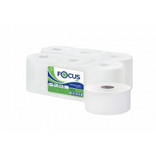 Бумага туалетная в больших рулонах Focus Eco Jumbo, 1-слой, 450 м, белый (12 шт/упак), арт. 5050785