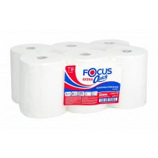 Полотенца для рук в рулонах Focus, 1-слой, 200 м, белый (6 шт/упак), арт. 5050095