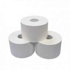 Туалетная бумага в рулонах с центральной вытяжкой, 2 слоя, 230 м, белый (6 шт/упак), арт. 472230