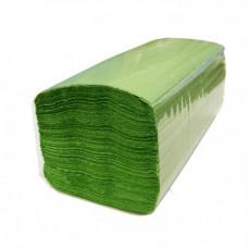Бумажные полотенца V-сложения, размер 23*24 см, 250 листов, 1 слой, фисташковый (V / ZZ-сложение) (20 шт/упак), арт. 210850