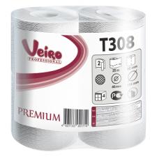 Туалетная бумага Veiro Professional Premium в стандартных рулонах, 200 листов 9,5 x 12,5 см, 2 слоя (8 шт/упак), арт. 308 T