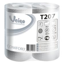Туалетная бумага Veiro Professional Comfort в стандартных рулонах, 200 листов 9,5 x 12,5 см, 2 слоя (8 шт/упак), арт. 207 T