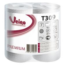 Туалетная бумага Veiro Professional Premium в стандартных рулонах, 160 листов 9,5 x 12,5 см, 3 слоя (8 шт/упак), арт. 309 T