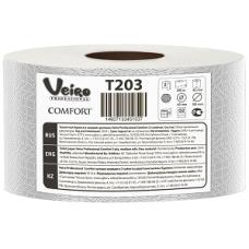 Туалетная бумага Veiro Professional Comfort в средних рулонах, 2 слоя (12 шт/упак), арт. 203 T