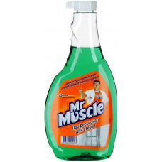 Mr Muscle чистящее средство для стекол запасной блок с нашататырным спиртом 500МЛ, арт. 3010986